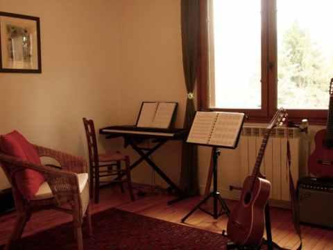 salle de cours de musique
