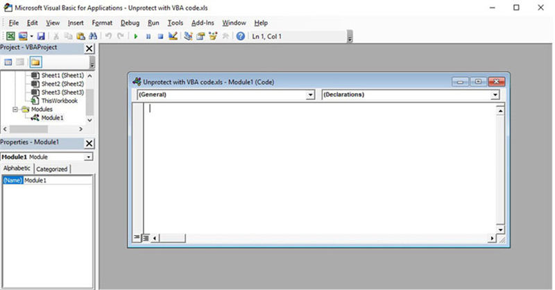 How to Unprotect Excel 2010 Workbook without Password