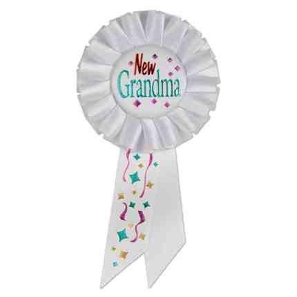 The new Grandma award. Pass around the award for newest Grandmother