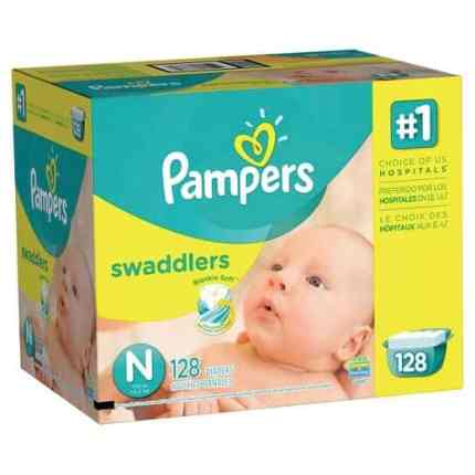 Pampers baby supplies for the new Grandma
