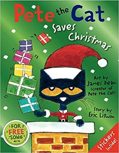 Pete the Cat Saves Christmas books kids will love