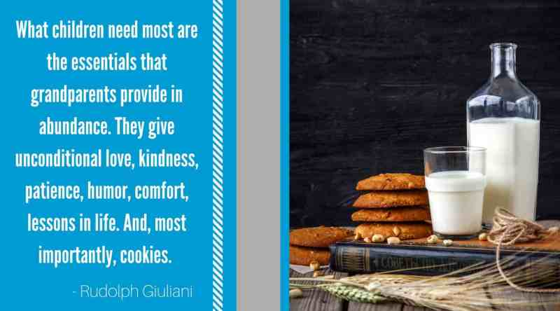 Grandma quote about cookies Giuliani
