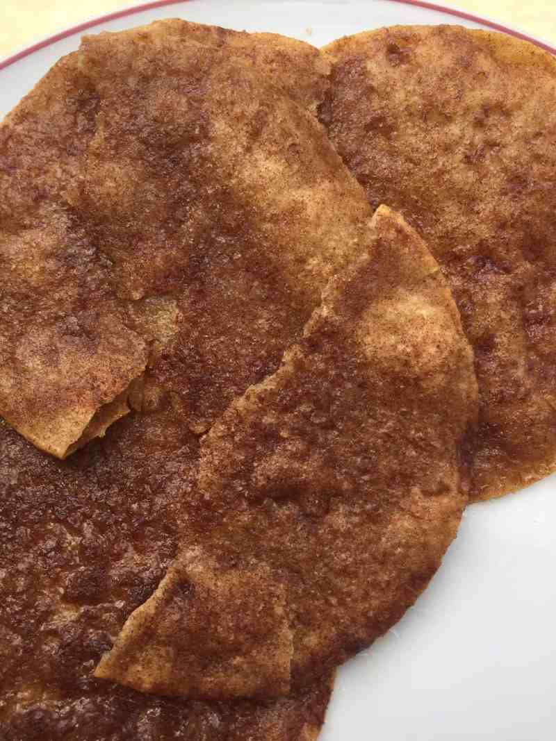 Cinnamon Crisps Recipe. Easy recipes to make with kids.