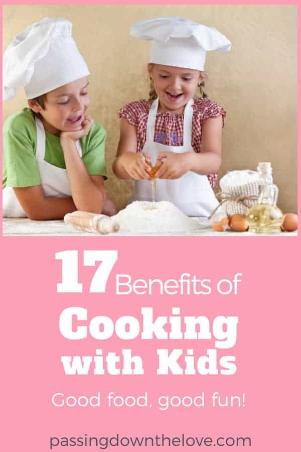 Enjoy the benefits of cooking with kids.  Head to the kitchen. Whip up a little something. Get out your camera and take some pictures!
