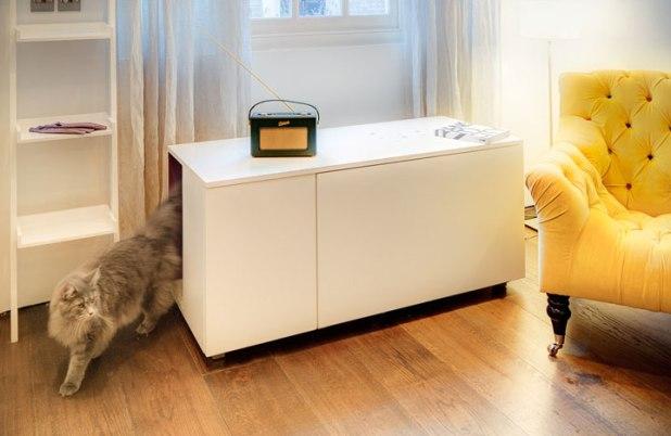 20 id es de meubles qui raviront vos animaux. Black Bedroom Furniture Sets. Home Design Ideas