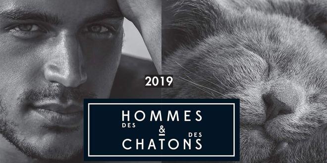 « Des hommes & des chatons » 2019, le calendrier aussi sexy que mignon !