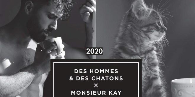 « Des hommes & des chatons » 2020, le calendrier aussi sexy que mignon !