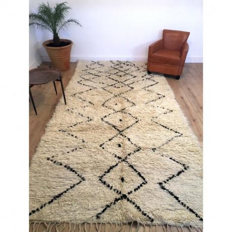 tapis ancien berbere beni ouarain 367 173