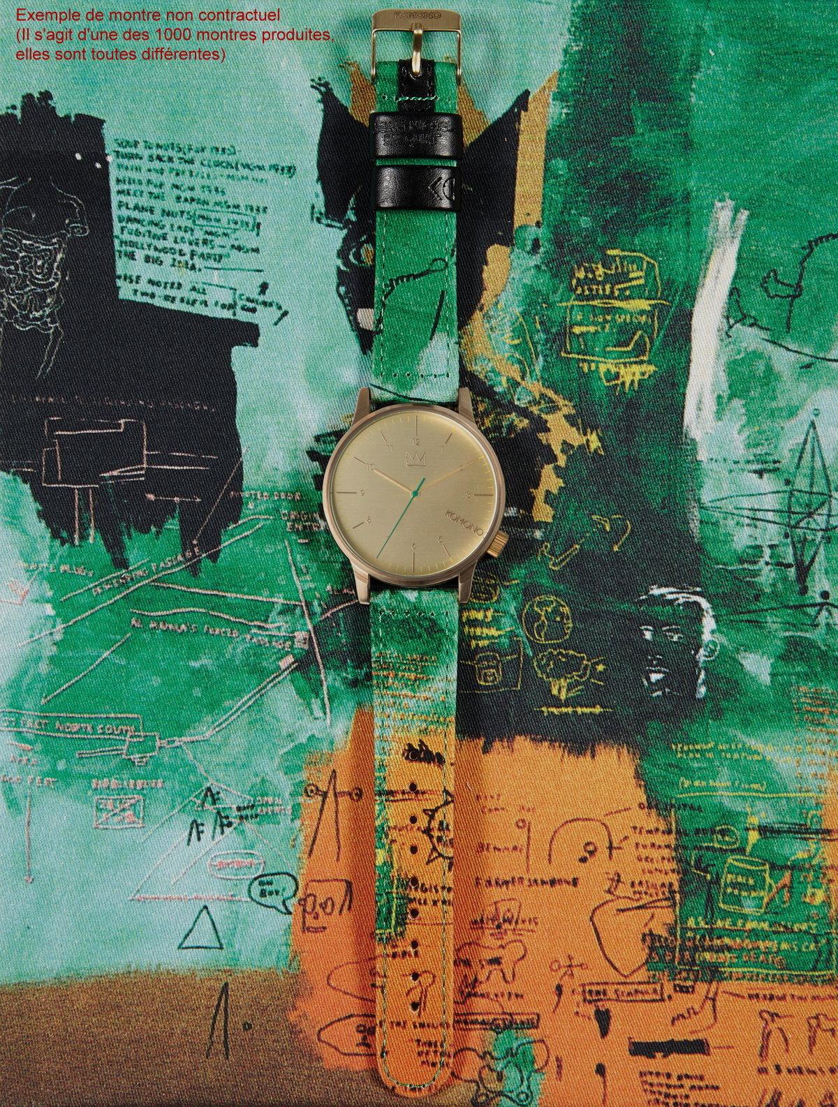 JeanMichel Basquiat Watch  Untitled 1984