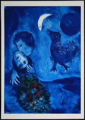 Marc Chagall  10 cartoline artistiche 105 x 148 cm