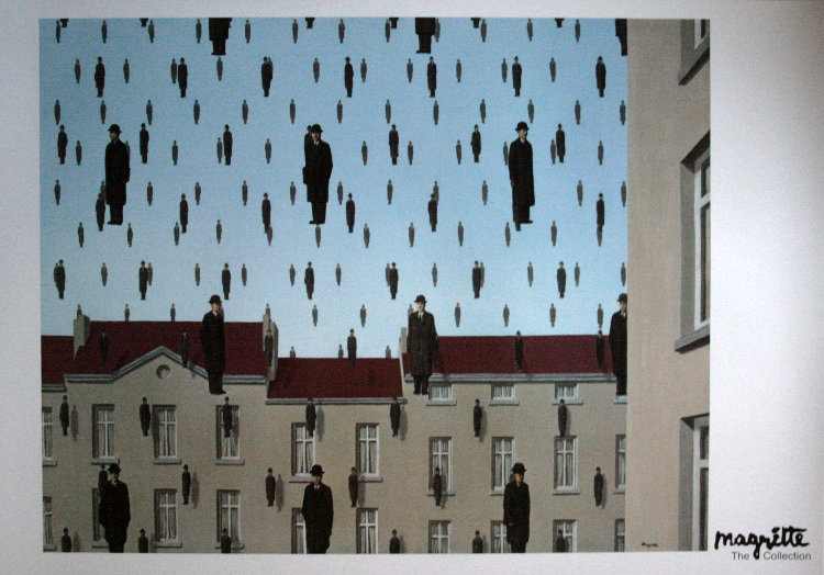 Painting Magritte Rene First