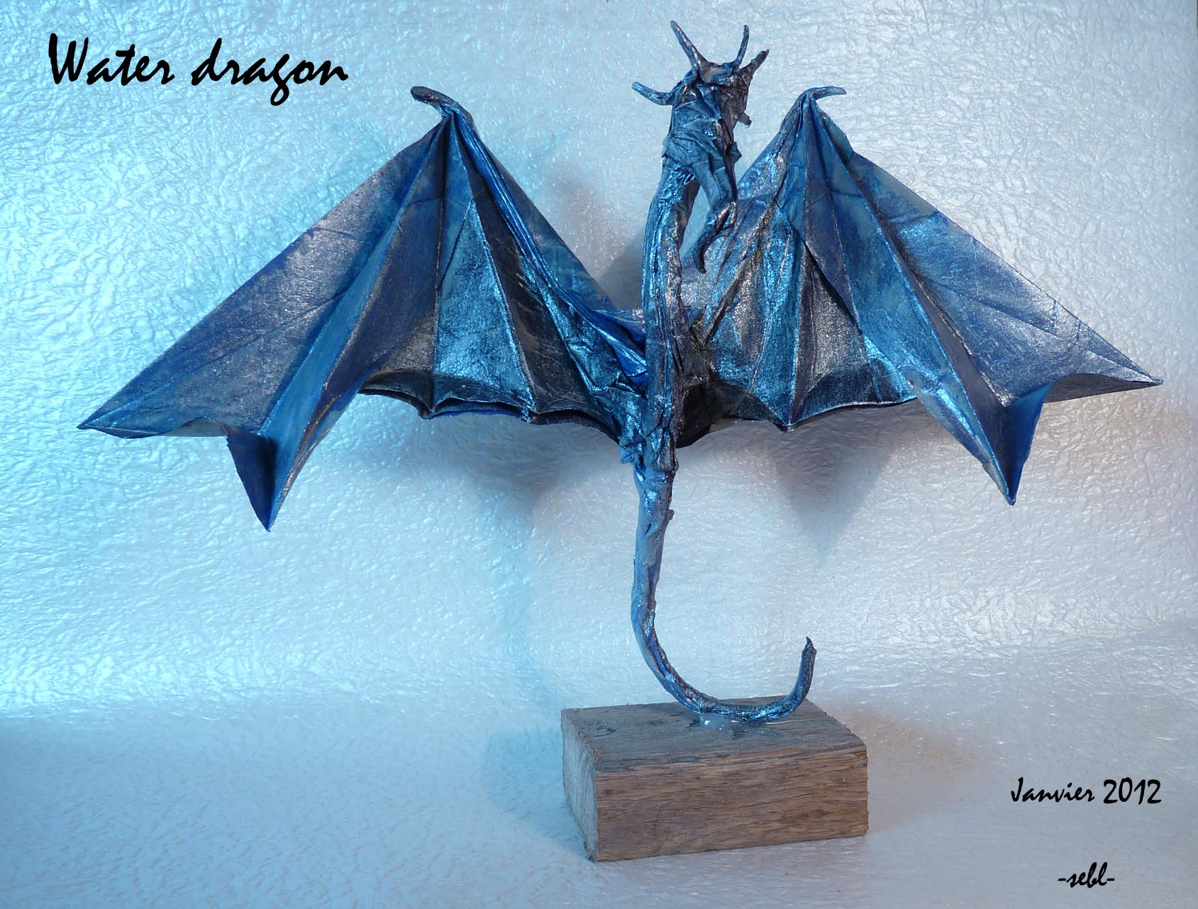 eric joisel origami mermaid diagram 2016 f150 headlight switch wiring dragon d 39eau limet sébastien passion