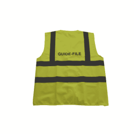 Gilet guide-file