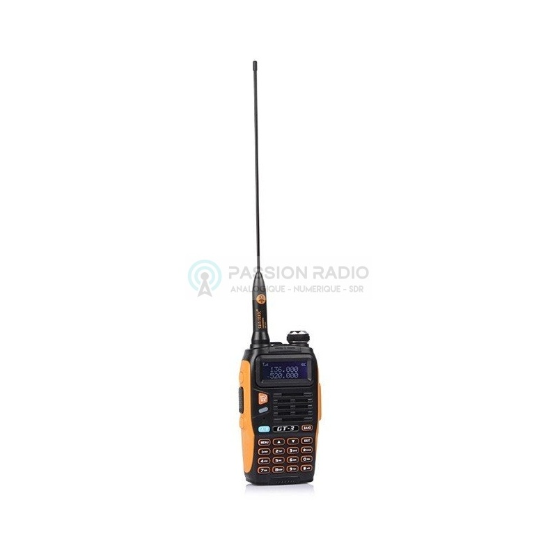New Baofeng GT3: Transceiver Handheld, FM Radio, Dual Band