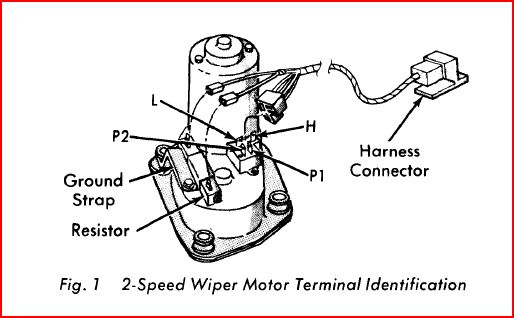 Bench Test Mopar 2 Speed Wiper Motors- Concealed and