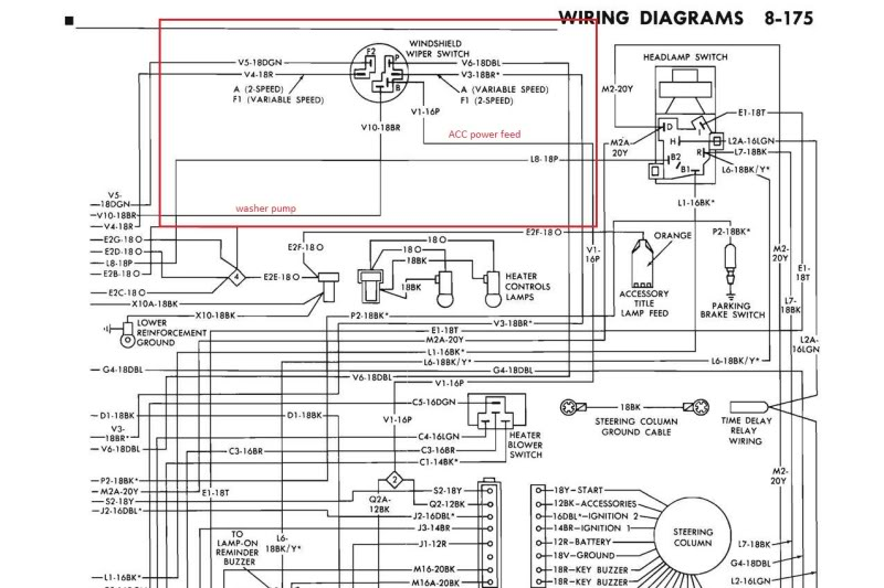 Wiper Switch Diagram 7 Pin, Wiper, Free Engine Image For