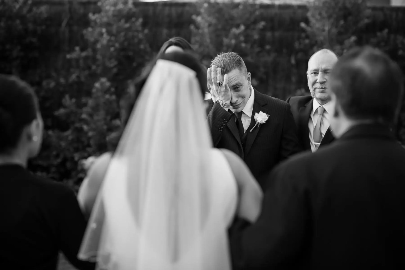 Wedding-at-Southern-Golf-Club-tears of joy