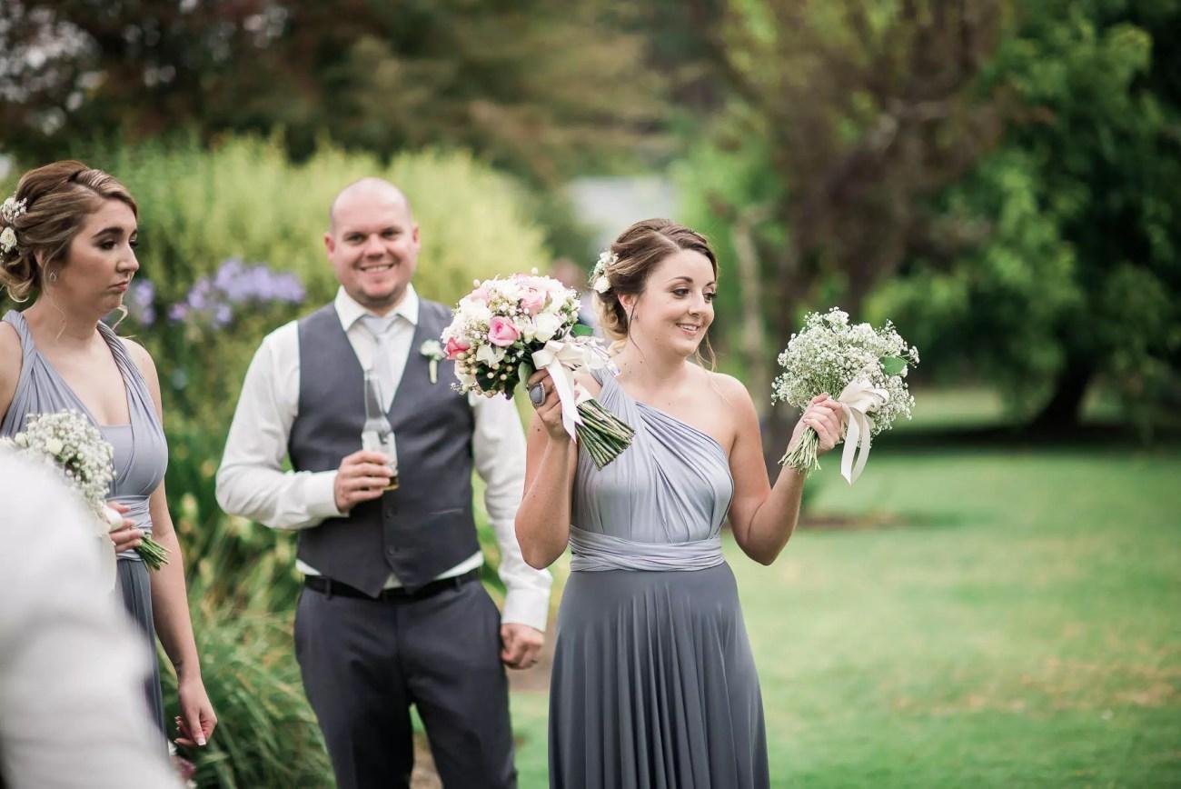 Wedding at Baxter Barn bridesmaid