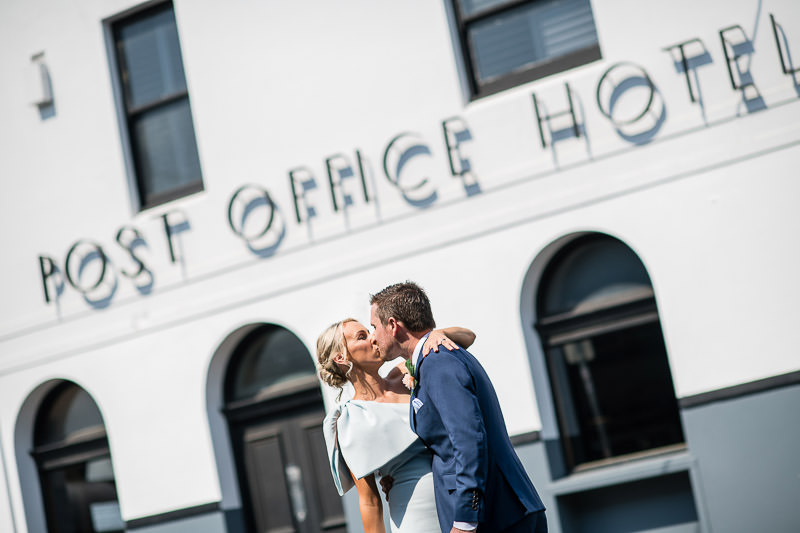 Wedding at Post Office Hotel