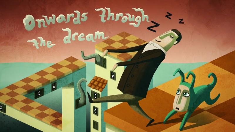 à travers le rêve