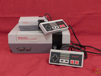 Mini-NES - la console rétro récente