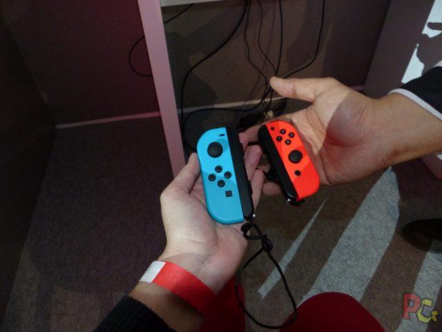 Essai Switch - Joy Con