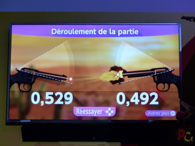 Essai Switch - Quick draw