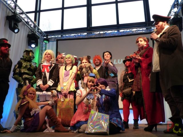 Salon Manga Draguignan - concours Cosplay