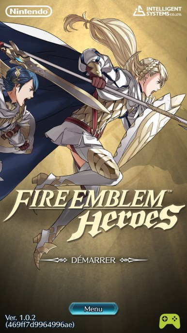 Fire Emblem Heroes accueil