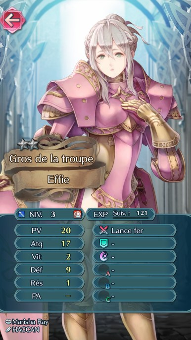 Fire Emblem Heroes Effie