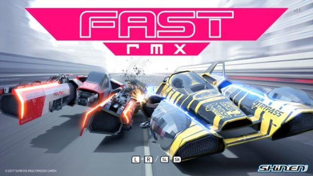 Fast RMX - Ecran titre