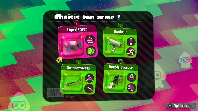 Splatoon 2 Global Testfire - Armes