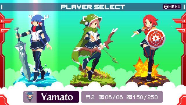 Kamiko - héroïnes