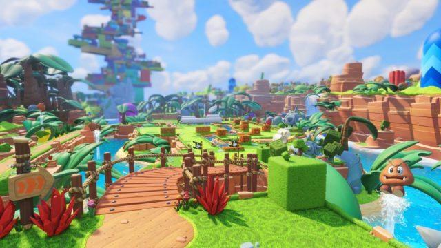 Mario + Lapins Crétins décors