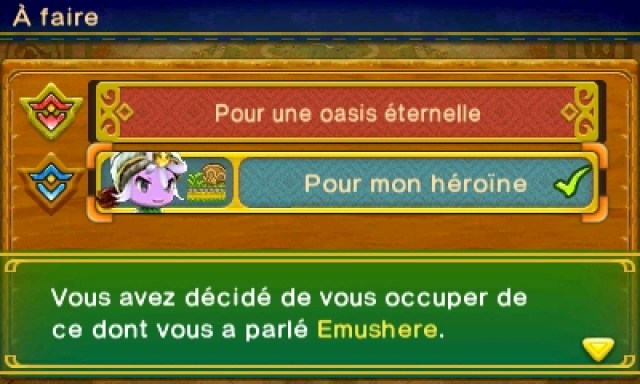Ever Oasis - missions