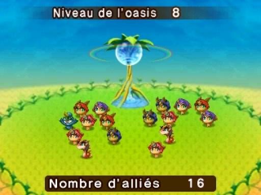 Ever Oasis - niveau oasis