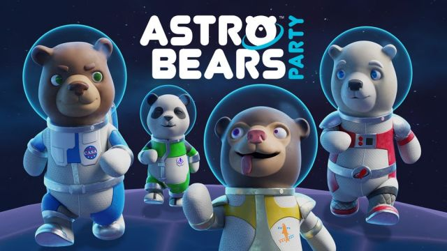 Astro Bears Party banner