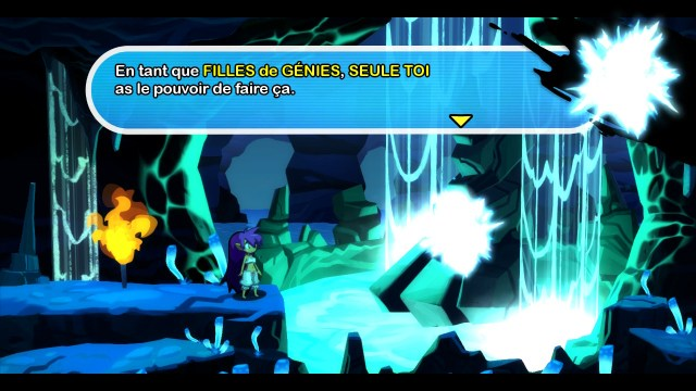 Shantae Half Genie Hero - messager des génies