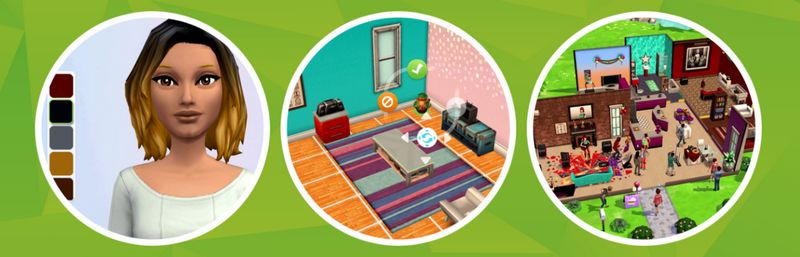 Sims mobile possibilités
