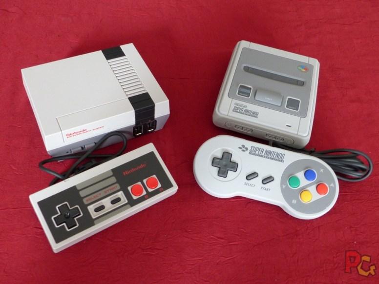 Mini SNES comparaison avec mini NES