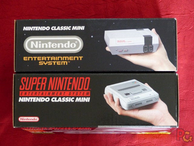 Mini SNES boîtes