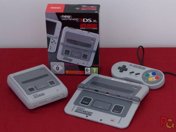new 3DS XL SNES comparaison