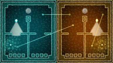 Sémispheres - niveau avec barres