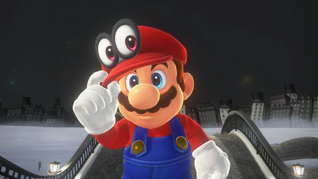 Super Mario Odyssey - Mario et Cappy