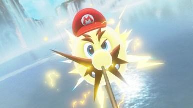 Super Mario Odyssey - pays des chutes 1