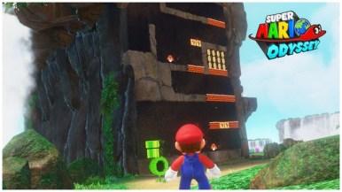 Super Mario Odyssey - pays des chutes 3