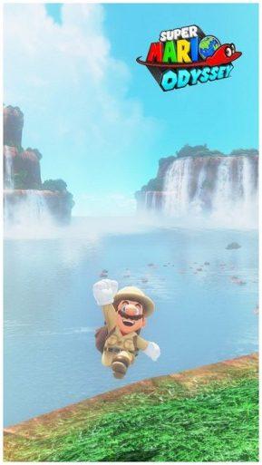 Super Mario Odyssey - pays des chutes 15