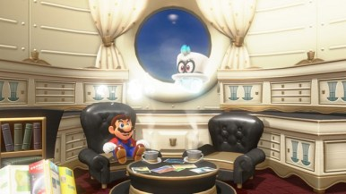 Super Mario Odyssey - pays des sables 1