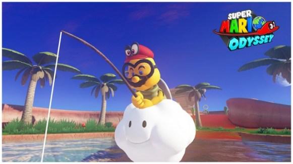 Super Mario Odyssey - pays des sables 8