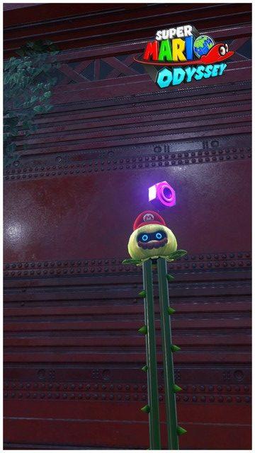 Super Mario Odyssey - pays de la foret 7